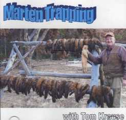 Marten Trapping DVD by Tom Krause martrptomkause