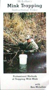 Professional Methods of Trapping Wild Mink DVD kmclellanvd03