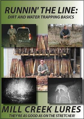 """Brian Steines' """"Runnin' The Line: Dirt and Water Trapping Basics"""" DVD #SW47559"""
