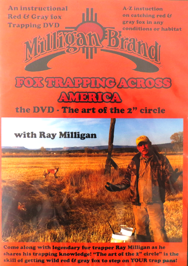 Fox Trapping Across America - DVD - by Ray Milligan 003566815