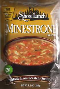 Shore Lunch Minestrone SOUP MIX  SL16028