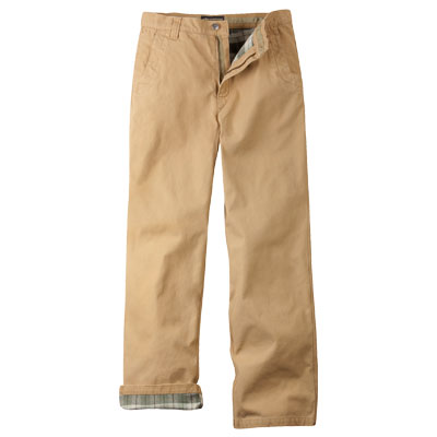 Mountain Khakis Flannel-Lined Original Mountain Pant mkflomp