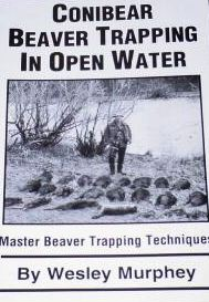Conibear Beaver Trapping in Open Water by W. Murphey #Murpheyowb