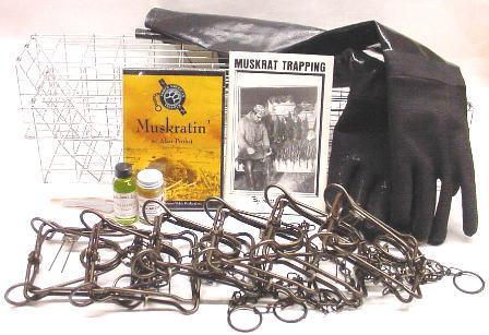 Muskrat Deluxe Trapping Kit #muskratkit12