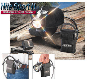 Nite Lite Nite Sport LED Rechargeable Light Package #1091
