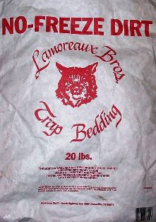 Lamoreaux Bros. NO FREEZE Dirt - 20lb. Trap Bedding #nfd27304