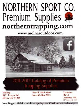 Northern Sport Co. Trapping Catalog 2012-2013 #TRAPCAT