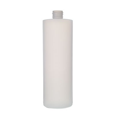 Plastic Cylinder Bottle - Natural #13840017