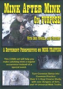 "Don Powell's ""Mink After Mink On Purpose"" 3 DVD Set 00652014"