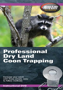 Professional Dry Land Coon Trapping Video pofedrylanddvd