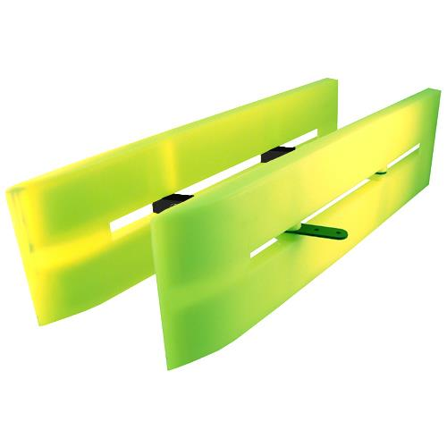 SEA DEMON Hi-Viz Collapsible Double Planer Board 509719