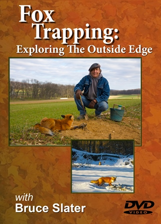 "Fox Trapping ""Exploring The Outside Edge"" DVD 0014slater"