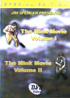 Jim Spencer The Mink Movie DVD Vol. 1 & 2 #2007js