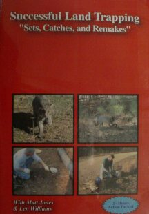 Successful Land Trapping Set,Catches and Remakes DVD with Matt Jones Successvideo