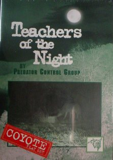Teachers of the Night Coyote DVD by Predator Control Group dvdteachredfox
