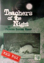 Teachers of the Night Red Fox DVD by Predator Control Group dvdteachersredfox