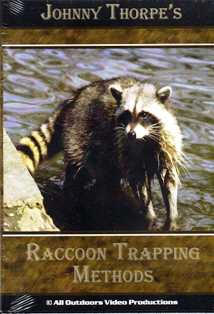 Raccoon Trapping Methods by Johnny Thorpe DVD 43393