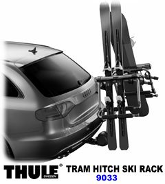 Thule TRAM 9033 Hitch Ski/Snowboard Carrier #9033tram