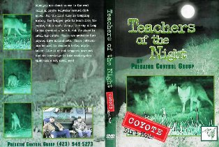 Teachers of the Night Video -Coyotes- teachnightcoyote