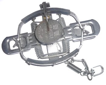 Victor #3 Soft Catch Coil Spring Trap (4 Coiled) 3softcatch4