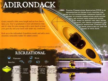Walden Adirondack 11'6 Kayak adir42707