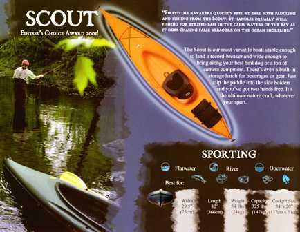 Walden Scout 12' Kayak Scout