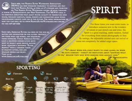 Walden Spirit 14' Kayak Spirit