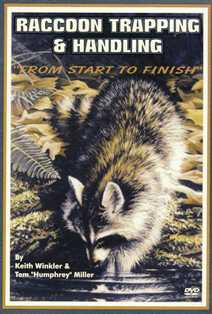 Keith Winkler's Raccoon Trapping & Handling: From Start to Finish DVD kw92382