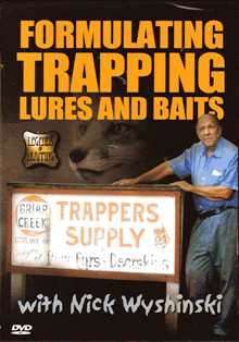 Formulating Trapping Lures And Baits with Nick Wyshinski #ftlb11