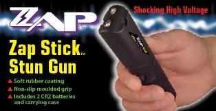 Zap Stick Stun Gun ZAPSTK600